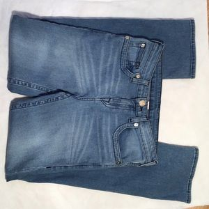 True Religion Jeans Straight Leg, Light Wash